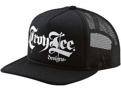 TroyLee Designs Script Snapback Hat, black - Cap