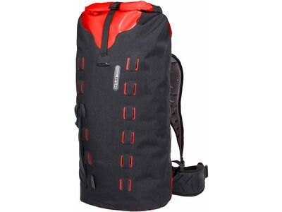 Ortlieb Gear-Pack 40 L, black-red - Rucksack