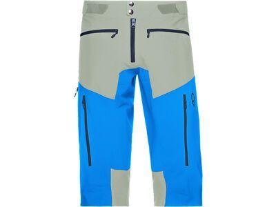 Norrona fjørå flex1 Shorts (M), castor grey/hot sapphire - Radhose