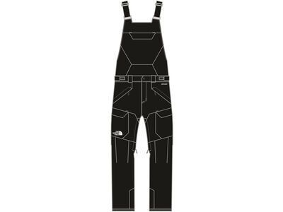 The North Face Men's Freedom Bib, tnf black - Skihose