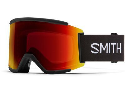 Smith Squad XL inkl. WS, black/Lens: cp sun red mir - Skibrille