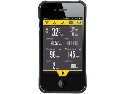 Topeak RideCase iPhone 4/4s, black - Schutzhülle