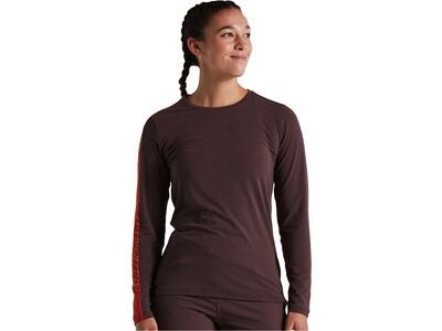 Specialized Women's Trail Long Sleeve Jersey cast umber