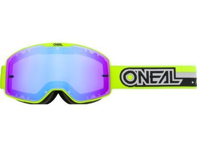 ONeal B-20 Goggle Proxy – radium blue neon yellow/black