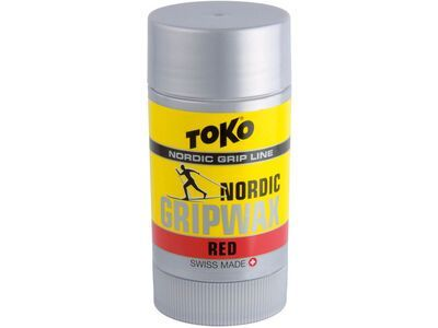 Toko Nordic GripWax, red - Steigwachs