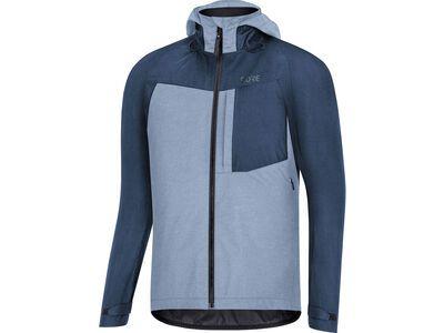 Gore Wear C5 Gore-Tex Trail Kapuzenjacke, deep water blue - Radjacke
