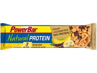 PowerBar Natural Protein (Vegan) - Banana Chocolate - Proteinriegel