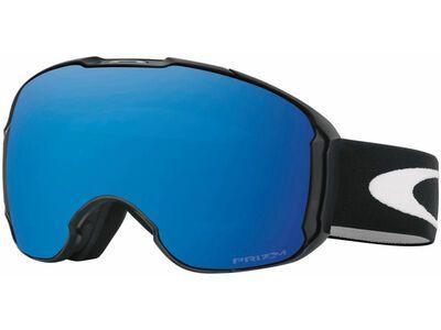 Oakley Airbrake XL Prizm + WS, jet black/Lens: sapphire iridium - Skibrille