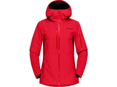 Norrona lofoten Gore-Tex insulated Jacket W's, true red - Skijacke