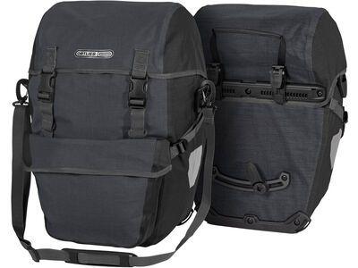 Ortlieb Bike-Packer Plus (Paar), granit-schwarz - Fahrradtasche