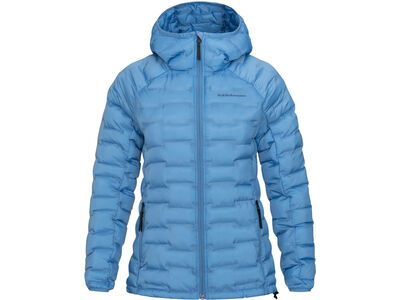 Peak Performance W Argon Light Hood Jacket, blue elevation - Thermojacke