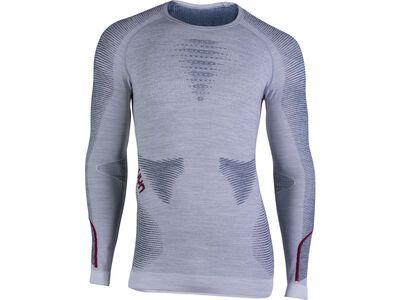 UYN Ambityon Shirt, melange/bordeaux - Unterhemd