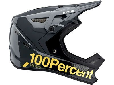 100% Status DH/BMX carby charcoal