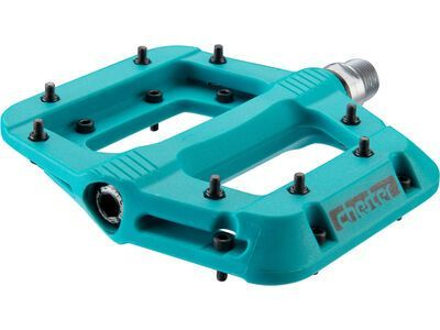 Race Face Chester Pedal, turquoise - Pedale