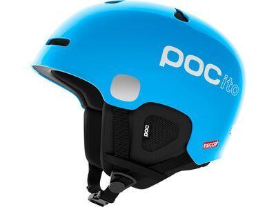 POC POCito Auric Cut SPIN, fluorescent blue - Skihelm
