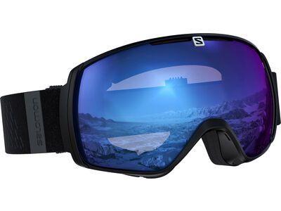 Salomon XT One Sigma, black/Lens: ml ice blue - Skibrille