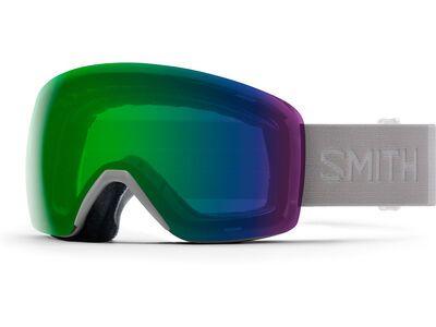 Smith Skyline, cloudgrey/Lens: cp everyday green mir - Skibrille