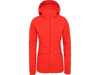 The North Face Womens Lenado Jacket, fiery red - Skijacke