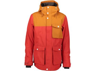 WearColour Horizon Jacket, falu red - Snowboardjacke