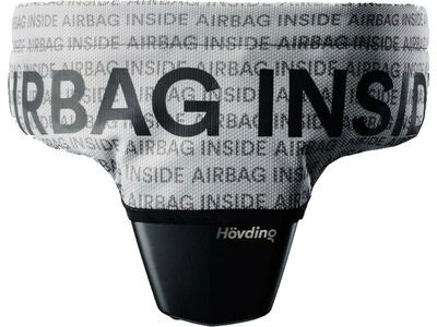 Hövding Überzug Airbag inside grau-schwarz