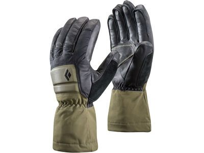 Black Diamond Spark Powder Gloves, burnt olive - Skihandschuhe