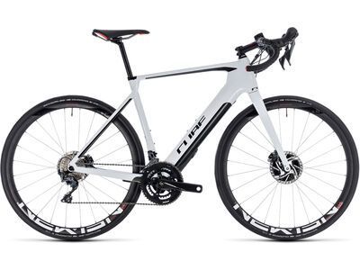 Cube Agree Hybrid C:62 SL Disc 2018, white´n´black - E-Bike