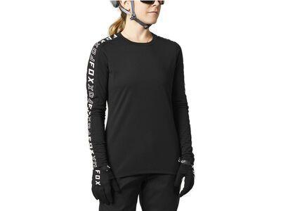 Fox Womens Ranger Drirelease LS Jersey black