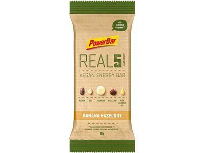 PowerBar Real5 Vegan Energy Bar - Banana Hazelnut