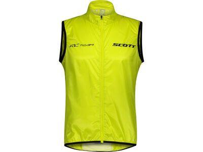 Scott RC Team WB Men's Vest sulphur yellow/black