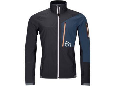 Ortovox Merino Airsolation Berrino Jacket M, black raven - Softshelljacke