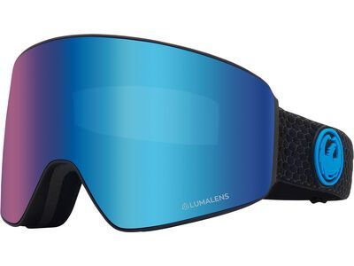 Dragon PXV inkl. WS, split/Lens: lumalens blue ion - Skibrille
