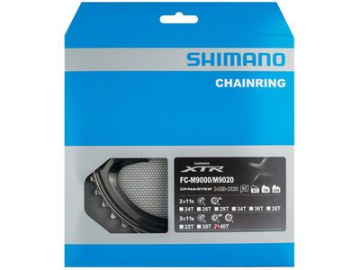 Shimano XTR FC-M9020 Kettenblatt - 3x11 / 96 mm LK / Außen