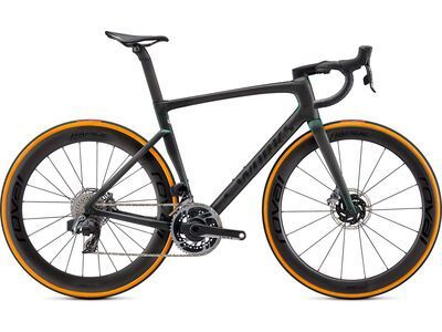 Specialized S-Works Tarmac SL7 SRAM eTap AXS carbon/color run silver green 2021