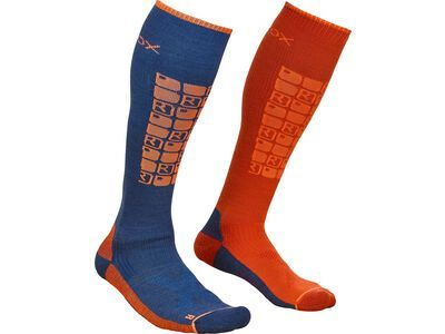 Ortovox Merino Ski Compression Socks M night blue