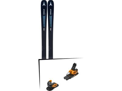 Set: Atomic Vantage 90 TI W 2019 + Salomon Warden MNC 13 saffron/black