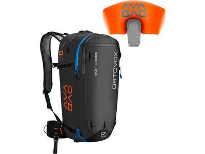 Ortovox Ascent 30 Avabag Kit, ohne Kartusche, black anthracite - Lawinenrucksack