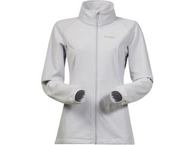 Bergans Park City Lady Jacket, aluminium - Fleecejacke