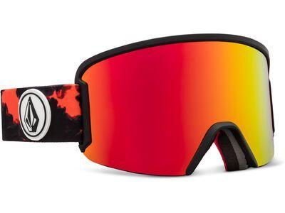 Volcom Garden, smoke/Lens: red chrome - Skibrille