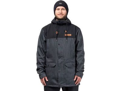 Horsefeathers Cornell Jacket, raw denim - Snowboardjacke