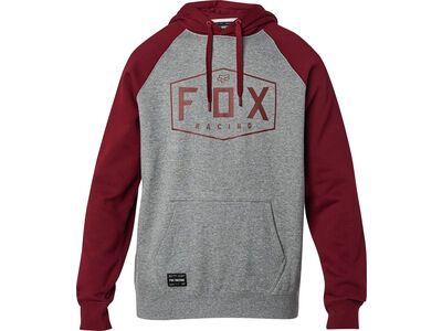Fox Crest Pullover Fleece heather graphite