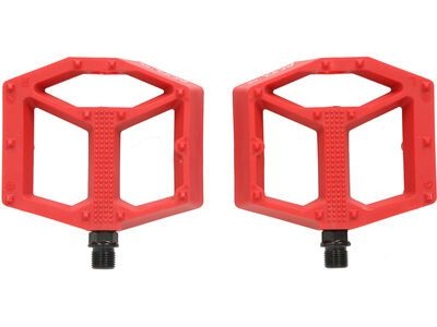 Cube Acid Pedale Flat C2-CC red