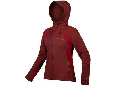 Endura Wms MT500 Waterproof Jacket II, kakau - Radjacke