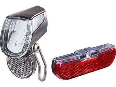 Trelock LS 435 Bike-i Go + LS 613 Duo Flat - Beleuchtungsset