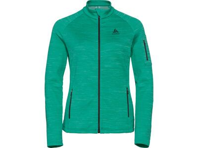 Odlo Midlayer Full Zip Fleece Mythen, pool green - Fleecejacke
