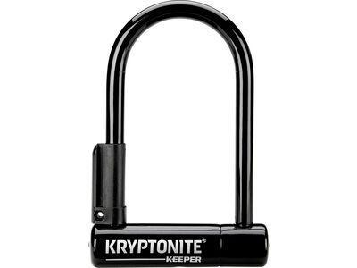 Kryptonite Keeper Mini-6, schwarz/schwarz - Fahrradschloss