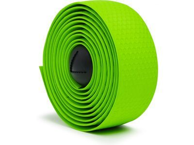 Fabric Silicone Bar Tape, green - Lenkerband