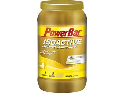 PowerBar Isoactive - Lemon 1320 g - Getränkepulver