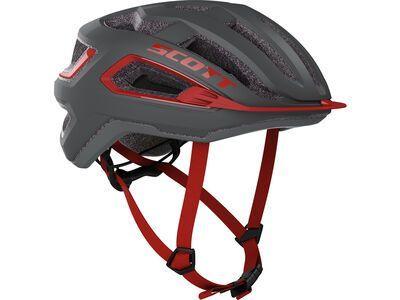 Scott Arx Helmet dark grey/red
