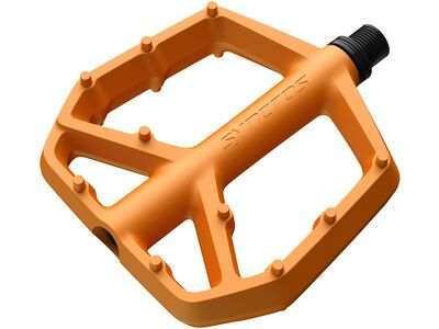 Syncros Squamish III Flat Pedals - Large fire orange
