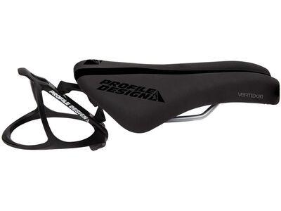 Profile Vertex 80 Solid CrMo, black - Sattel